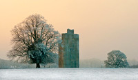 Cloghleigh Castle on Christmas Eve